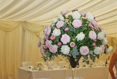 Wedding Marquee Hire For 140 Guests
