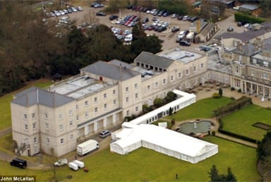 Corporate Event Marquee Hire For 250 Guests With 160ft Walkway