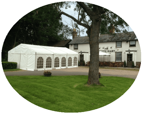 essex marquee hire with windows