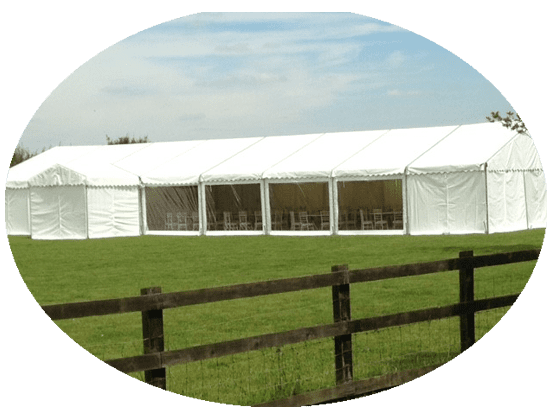 Marquee Hire in Hatfield, Herfordshire - External View