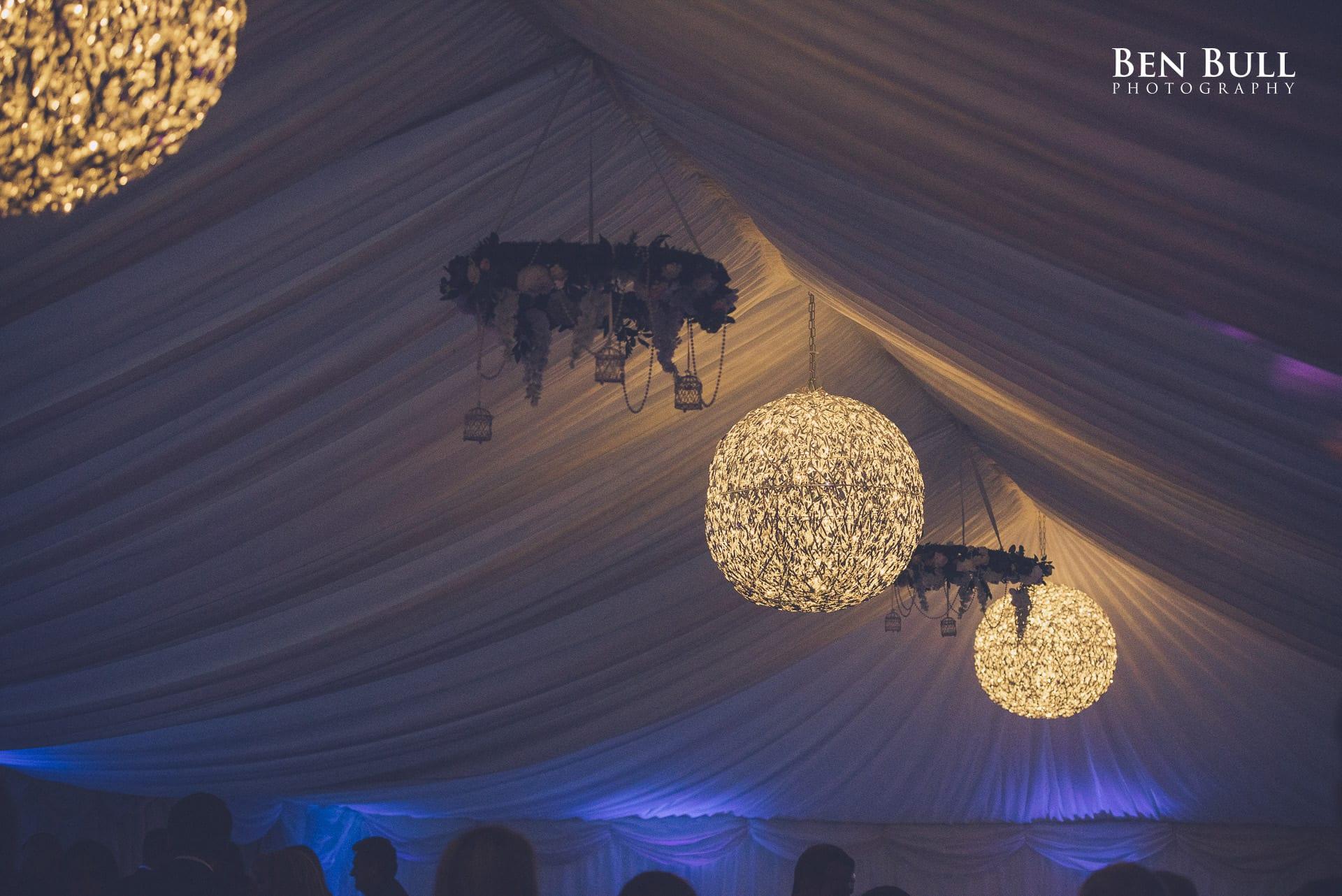 Decorative globes for Summer Wedding
