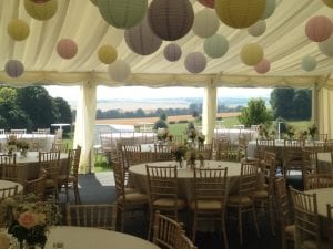 Rural Marquee Wedding Venue