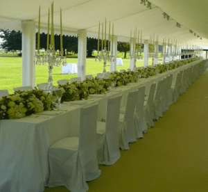 Elegant Marquee Wedding Venue