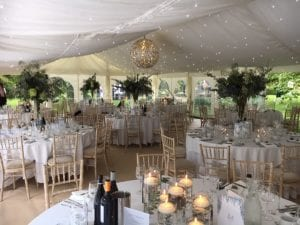 Wedding Marquee Star Cloth