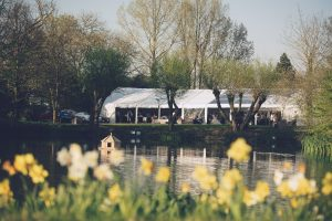 Marquee Wedding Lake