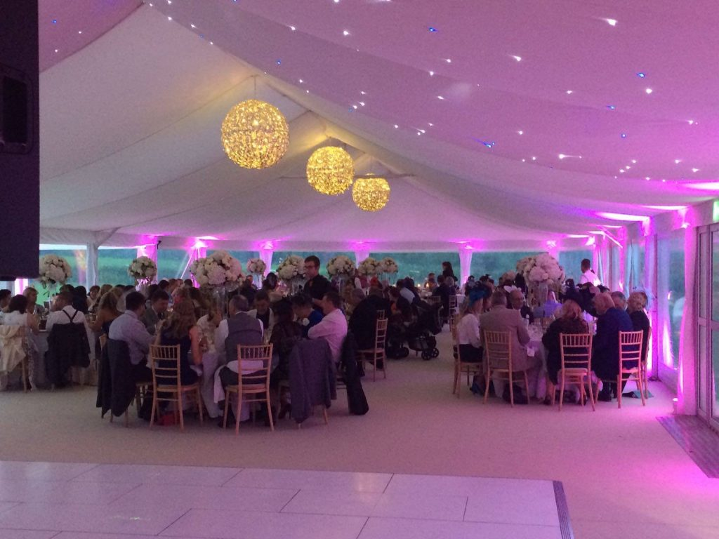 Corporate Marquee Hire by Ambassador Marquees